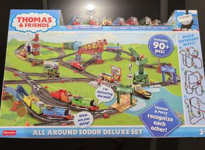 Thomas & Friends All Around Sodor Deluxe Train Set for Sale in Phoenix, AZ
