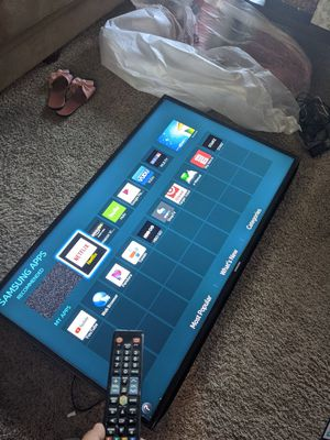 55' SAMSUNG SMART TV for Sale in Anaheim, CA