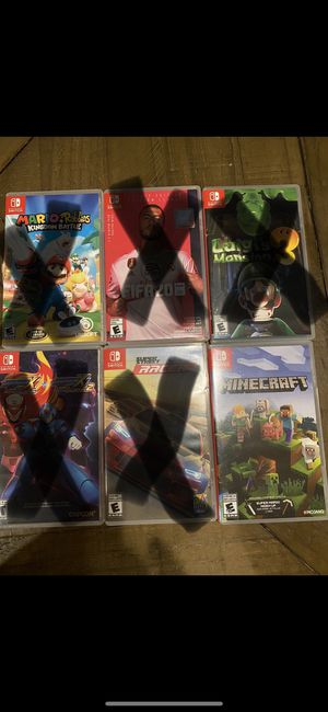 Nintendo Switch games for Sale in Anaheim, CA