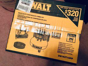 Dewalt compressor combo kit for Sale in Duquesne, PA