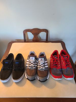Men tennis Vans, Adidas and Nike for Sale in Denver, CO