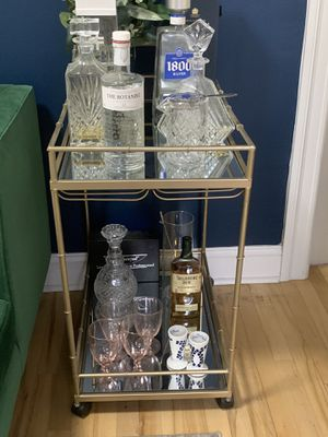 West Elm Bar Cart for Sale in New York, NY