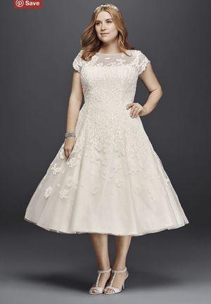 David bridal wedding dress size 14 for Sale in Fontana, CA