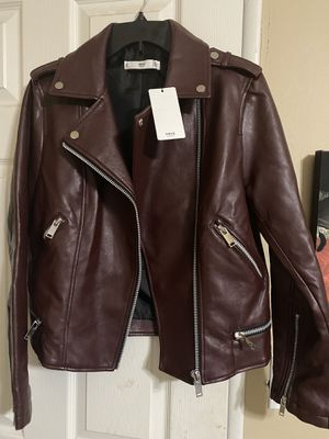 MNG (Mango) leather jacket for Sale in Fontana, CA