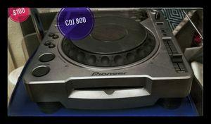 1-PIONEER CDJ 800. WORKS GREAT. for Sale in Las Vegas, NV