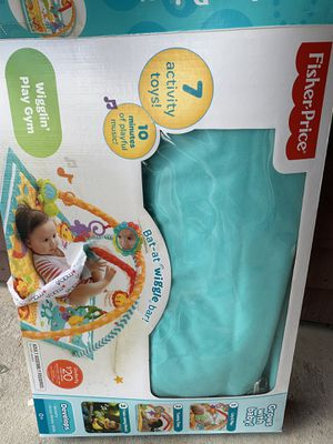 Fisher Price Baby Play Mat + Toys for Sale in Houston, TX
