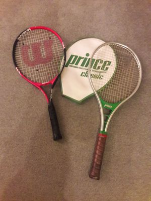 2 TENNIS RACKETS for Sale in Safety Harbor, FL