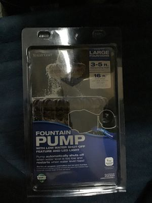 Fountain Pump for Sale in Henderson, NV