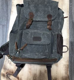 Canvas camera backpack for Sale in Broomfield,  CO