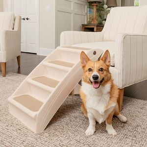 PetSafe CozyUp Folding Pet Steps, Foldable Steps for Dogs and Cats, Best for Small to Large Pets for Sale in Tinley Park, IL