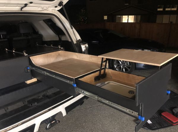 Toyota 4Runner Kitchen And Drawers