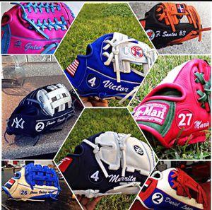 Baseball/Softball custom gloves bigbanggloves.com for Sale in Alpharetta, GA