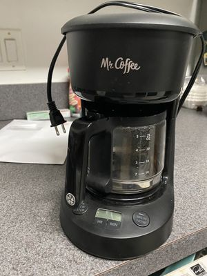 Mr coffee 5. Cup coffee maker for Sale in Jacksonville, FL