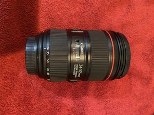 Canon 24-105 F4 II lens for Sale in Wilton Manors, FL