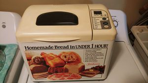 SUNBEAM BREAD MAKER for Sale in Spring Hill, FL