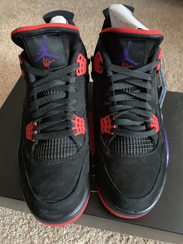 Air Jordan 4 OVO Raptors DS Size 11.5