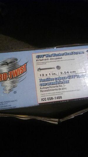 Pro twist screws for Sale in Modesto, CA