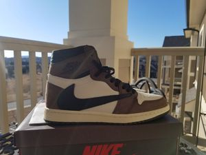 Travis Scott x Nike Air Jordan 1 High Mocha for Sale in Huntsville, AL
