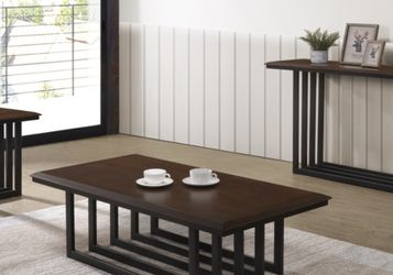 NEW E 56 COFFEE TABLE AND SIDE TABLE SET ONLY $199 EXTRA SIDE TABLE $99 for Sale in Brandon,  FL