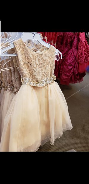 3 flower girl dresses for Sale in Denver, CO