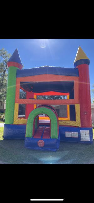 Brand new never used bounce house for Sale in Spring, TX