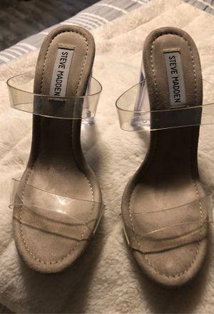 Steve Madden Women's Glassy Heeled Sandal for Sale in Austin, TX