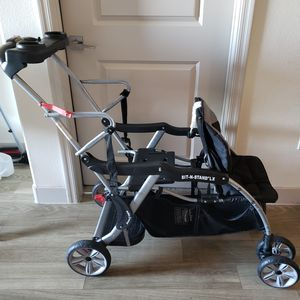 Baby Trend Sit 'N Stand Double Stroller - Moonstruck for Sale in Henderson, NV