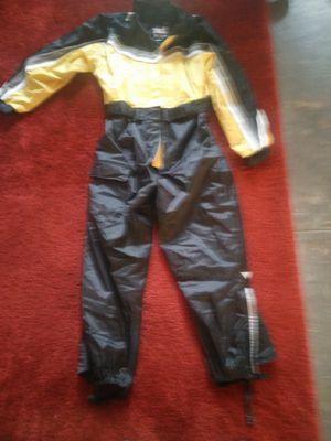 TourMaster Elite Series 2 one piece rain suit yellow black size medium for Sale in Atlanta, GA