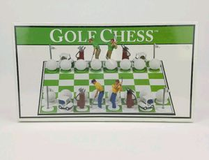 Golf Chess Board Game Set Big League Promotions 2001 for Sale in Pompano Beach, FL