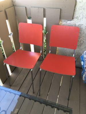 2 chairs for $30 for Sale in Placentia, CA