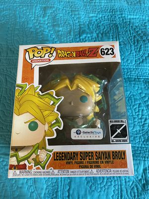 Funko Pop DragonBall Z Galactic Toys Exclusive Legendary Super Saiyan Broly for Sale in The Bronx, NY