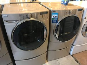 Kenmore Elite He5t Front Load Washer and Dryer Set!!! for Sale in Chino, CA