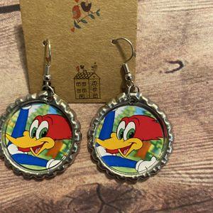 Woody Woodpecker Earrings for Sale in Boynton Beach, FL