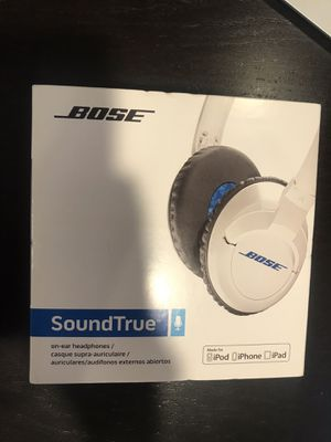 Bose SoundTrue Headphones On-Ear Style for Apple iOS used for Sale in Monterey Park, CA