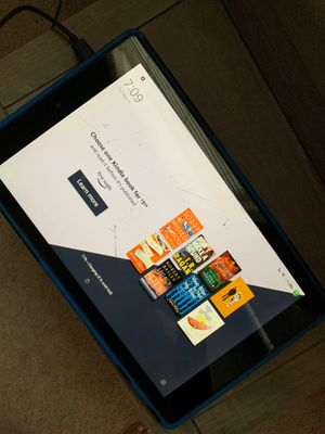 Amazon Fire 10 HD tablet cracked screen for Sale in Sanford, FL