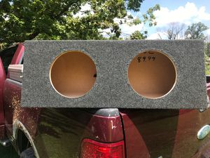 Subwoofer box for 2-10's for Sale in New Lexington, OH