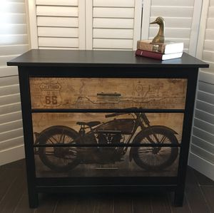 Motorcycle Dresser Drawer Harley Davidson for Sale in Conyers, GA