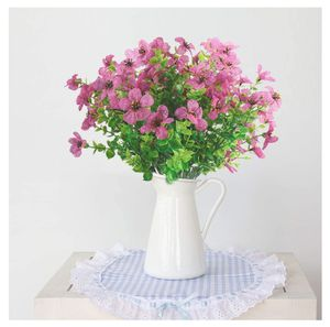 Artificial Fake Flowers UV Resistant 4pcs Outdoor Shrubs Plants Faux Plastic Greenery for Sale in Vancouver, WA