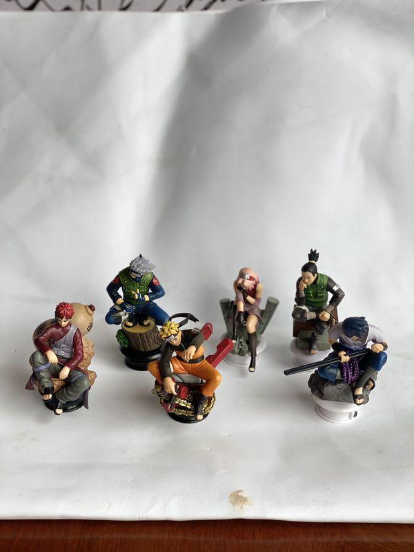 Naruto Shippuden Chess Piece Collection
