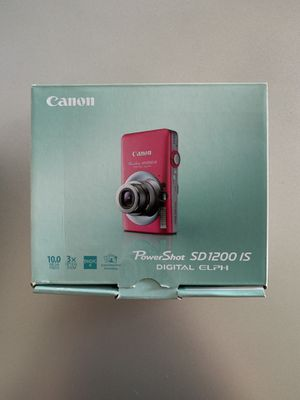 Canon Powershot SD1200 IS Digital ELPH Camera for Sale in Orland Park, IL