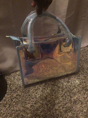 Iridescent blue bag for Sale in Norfolk, VA