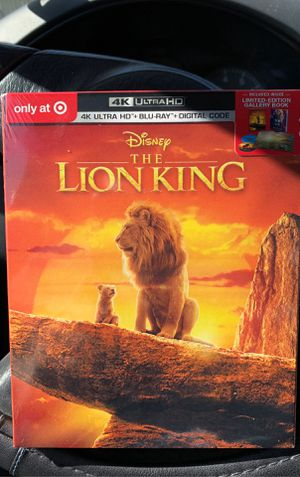 The lion king 4K target exclusive for Sale in Costa Mesa, CA