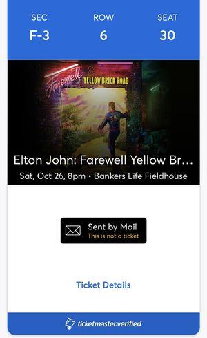 Elton John Tickets! for Sale in Greenwood, IN