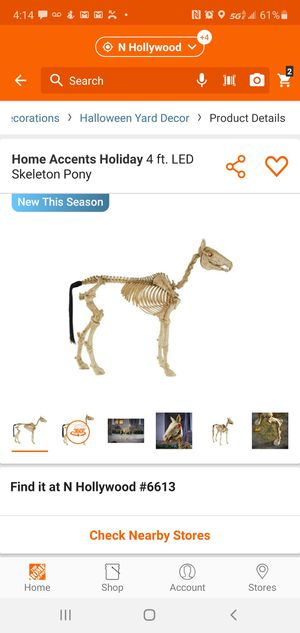 Skeleton pony brand new in box haloween for Sale in Los Angeles, CA