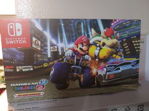 Nintendo switch Mario Kart deluxe 8 bundle for Sale in Dallas, TX