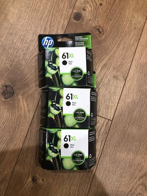 hp ink 61 XL for Sale in Milpitas, CA