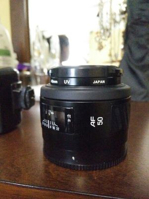 Minolta Maxxum Macro lens AF50 for sony alpha. for Sale in Rockville, MD