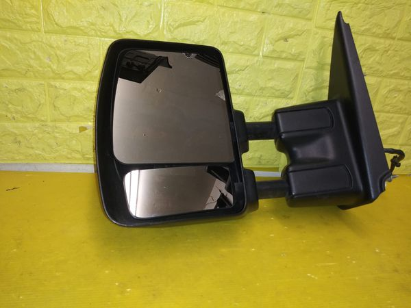 2016 2018 NISSAN TITAN LEFT DRIVER SIDE CHROME MIRROR POWER HEATED GENUINE USED OEM D52