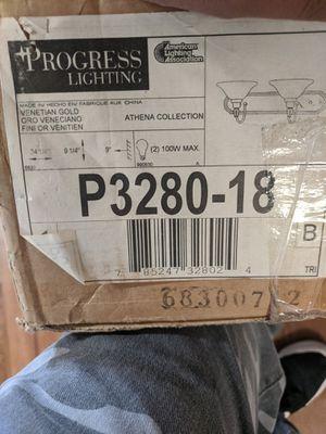 Progress lighting fixture vanity type light for Sale in Denver, CO