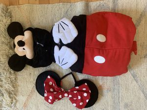 Mickey Mouse Disney Store Plush costume 3T for Sale in Kensington, MD